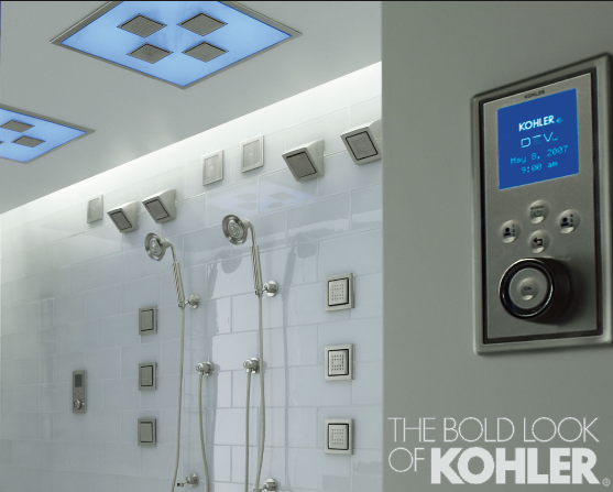 Kohler Digital showers