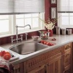 American Standard equipped kitchen with sink and faucet