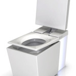 Motion activated toilet seat