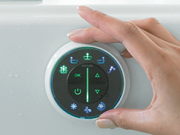 Kohler hydrotherapy massage tub control panel Miami.