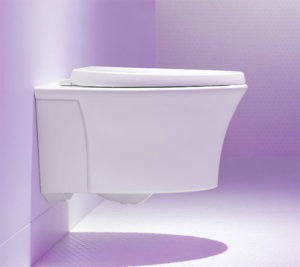 Kohler Veil® Wall-Hung Toilet in our Miami Showroom | Guillen\'s ...