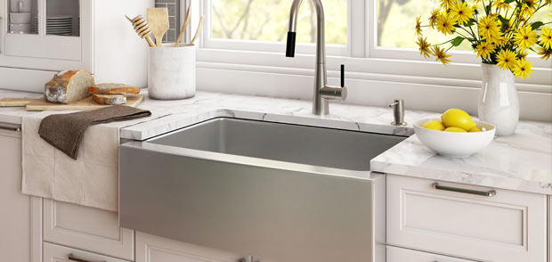 Kraus Sinks And Faucets Miami Kitchen And Bathroom Guillens - Bathroom faucets miami