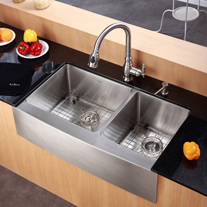Incroyable Kraus Faucet And Sink On Display In Our Miami Showroom.