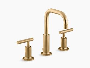 Gold Lavatory Faucet